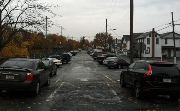 BEFORE: East Henry Street parking lot
