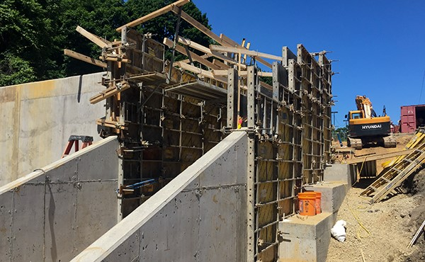 Formwork for stair walls (June 2018)