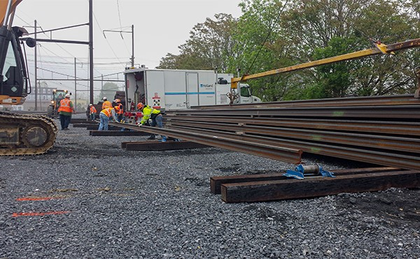 Positioning rail for welding (May 2019)