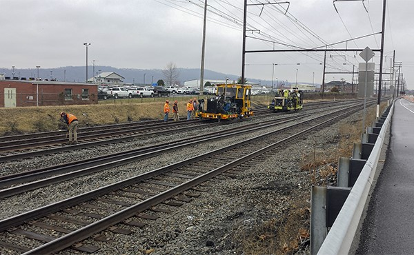 Positioning and surfacing track (March 2020)