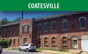 Coatesville Station image with link to the Coatesville page