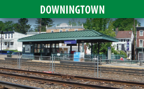 Downingtown Station image with link to the Downingtown page