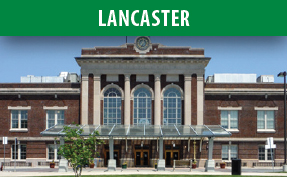 Lancaster Station image with link to the Lancaster page