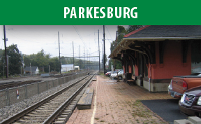 Parkesburg Station image with link to the Parkesburg page